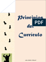 Principios del Currículo