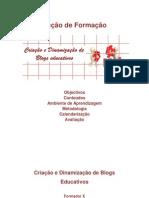 Acção de Formação - apresentação do curso - livro