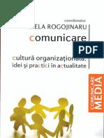 Comunicare Si Cultura Organizational A