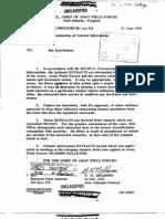 Korean War Dissemination of Combat Info 10 June 2