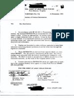 Korean War Dissemination of Combat Info 16 Nov 1953