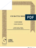 Korean War Chosin Reservoir CSI Battle Book