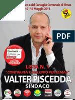 Programma Elettorale Lista n.1 - CONTINUITA'  e  SVILUPPO PER ELMAS