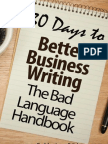 30 Days to Better Business Writing