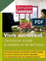 Vivre autrement en Île-de-France,  guide Alternatives Economiques et l'Atelier