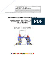 FORMATION DE FORMATEURS FLASHOVER