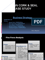 Crown Cork & Seal Case Study Grp 3 Business Strategy