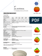 H&S Sencity Optima Antenna Data Sheet