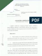 Counter Affidavit Mario Reyes aka MARJO