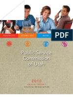 Utah Public Service Commission Annual Report 2010