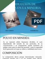 Produccion de Polvos en La Mineria