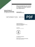 NIST Special Publication 800-53 Revision 3
