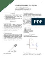 Curvas Características do transistor