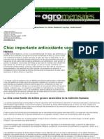 CHIA - Poderoso Antiocidante Natural