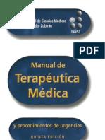 MANUAL DE TERAPEUTICA ZUBIRAN