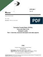 Etr 30001e01p ETSI Standard