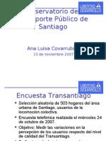 11 15   Libertad y Desarrollo - Observatorio de Transporte Público de Santiago