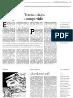 12 15  La Tercera - Editorial - Informe sobre Transantiago-Un diagnóstico compartido