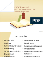 Nvcc Proposal Ppt