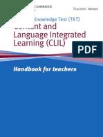 Clil Handbook