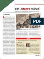 ¿En que quedó la nueva política? Por Santiago Casanello.