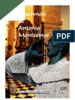 El SERMÓN de ANTONIO MONTESINOS