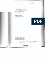 Market Structure and Behavior