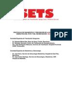 Protocolo Isoinmunizacion. EHRN