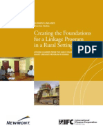 Creating the Foundations for a Linkage Program in a Rural Setting