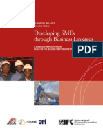 Developing SMEs Through Business Linkages