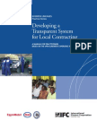 Developing a Transparent System for Local Contracting