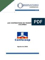 Las Cooperativas de Transporte en Colombia
