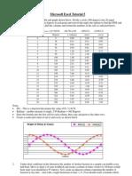 Microsoft Excel Tutorial 5