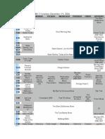 ABC-5 Schedule (2006-2007) (phase 1)