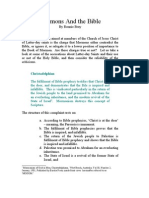Anti-Mormons on Mormons and the Bible Christadelphians Part One