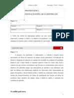 2010 - Caderno do Aluno - Ensino Médio - 3º Ano - Sociologia - Vol. 2