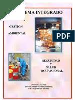 Sistema Integrado De Gestion Ambiental, Seguridad Y Salud Ocupacional