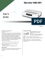 OKI491 Manual