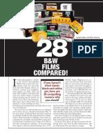 Black & White Films Compared PDF