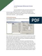 Manual de Dameware Mini Remote Control.