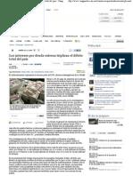 02-05-11 Los intereses por deuda externa triplican el débito total del país