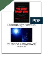 Dramaturgy Portfolio