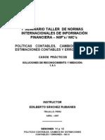 Taller Casos Prácticos - NIC 8    Soluciones   1 a 5[1]