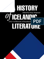 A History of Icelandic Literature - Daisy Neijmann