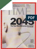 Time Kurzweil Singularity 2011