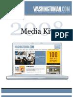 Washingtonian 2008 Media Kit