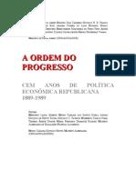 A Ordem Do Progresso - Resumo