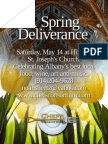 A Local Albany Food Event Celebrating Spring at Historic Landmark