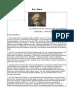 Karl Marx Trabalho de Sociologia