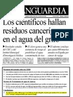 Residuos cancerígenos